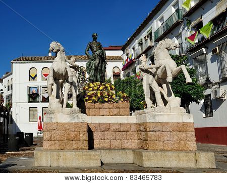 The Monument To  Manolete, Cordoba, Spain