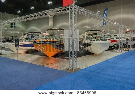 Mastercraft Stand Boats On Display