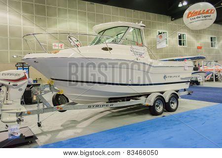 Striper Boat On Display