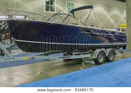 Vanquish 24R Runabout Boat On Display