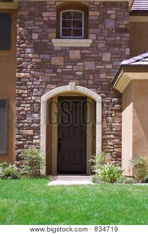 Beautiful Brick Entrance