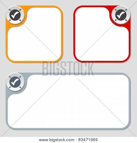 Three Vector Frames
