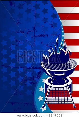 Red, White And Bbq