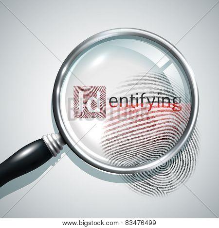 Fingerprint Search Illustration