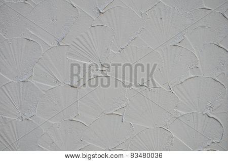 Shell Shape Plaster Walls