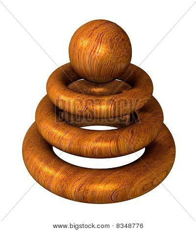 Wooden Object  For Modern Company