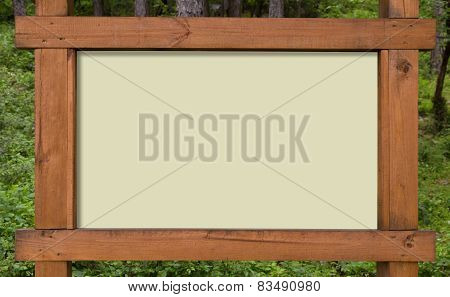 Forest Sign Board