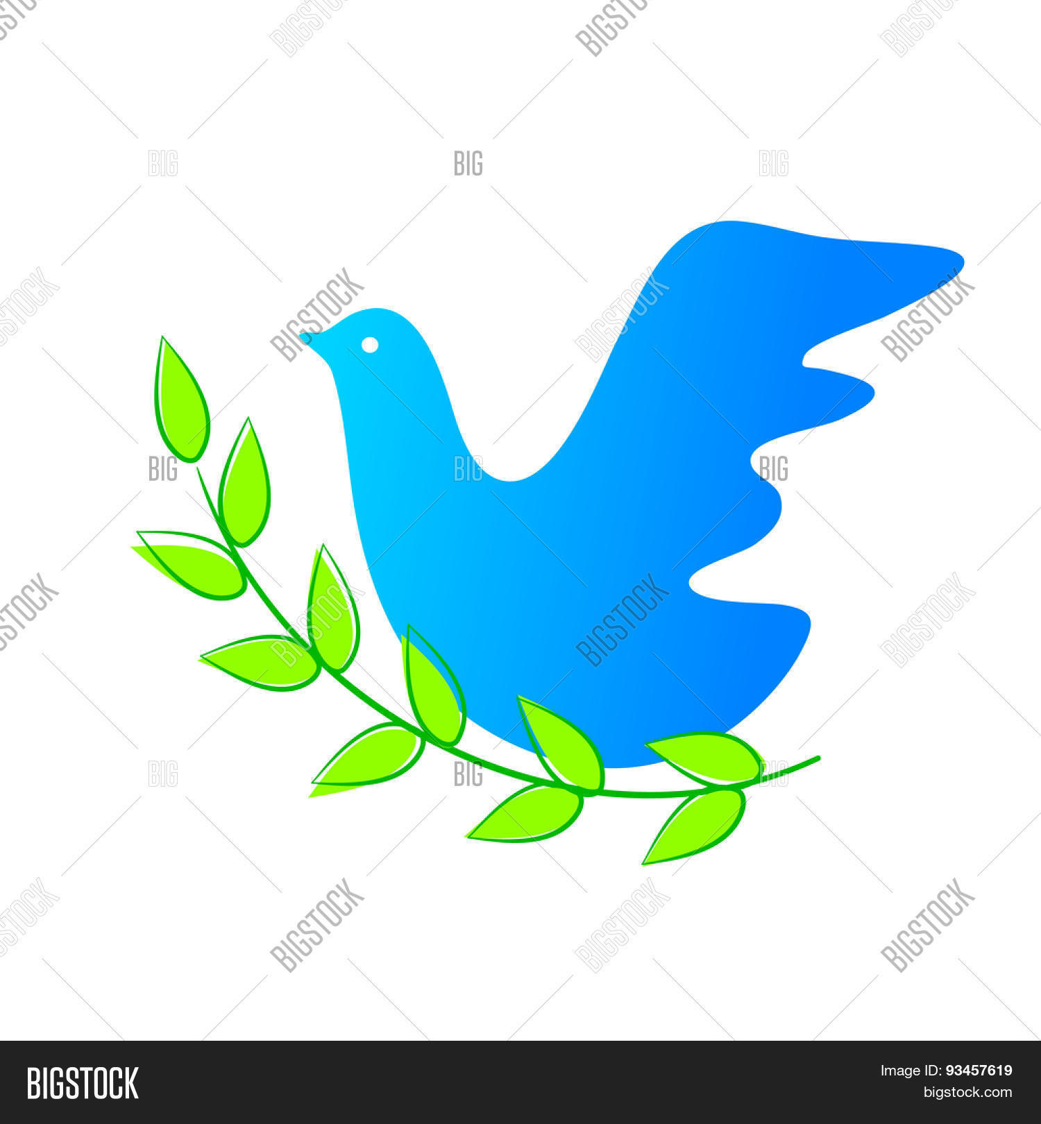 Dove Symbol Peace Vector Photo Free Trial Bigstock