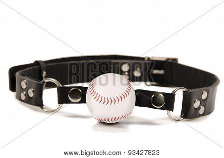 Baseball Ball Gag