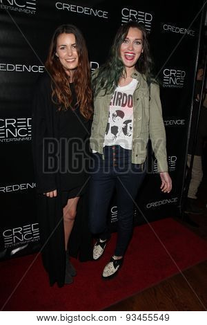 LOS ANGELES - JUN 10:  Taylor Montague, Olivia Day at the