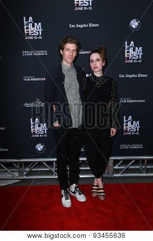 LOS ANGELES - JUN 10:  Daryl Wein, Zoe Lister-Jones at the