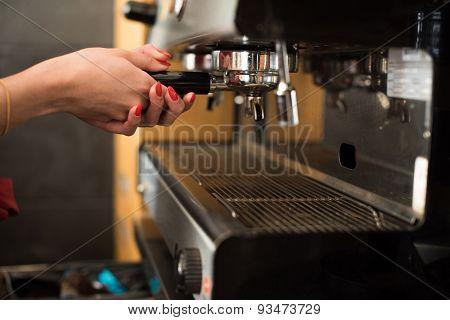 Hands On Expresso Machine