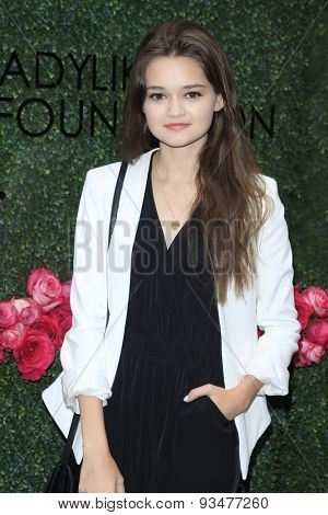 LOS ANGELES - JUN 13:  Ciara Bravo at the LadyLike Foundation 7th Annual Women Of Excellence Scholarship Luncheon at the Luxe Hotel on June 13, 2015 in Los Angeles, CA