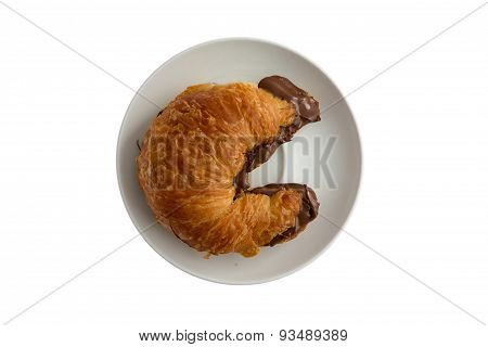 Freshly Baked Flaky Buttery Croissant