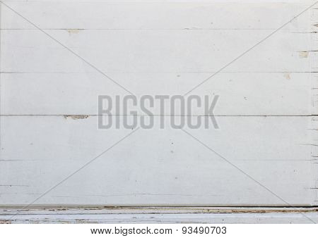 White Wood Plank As Taxture And Backgrounds.