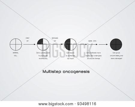 Multistep oncogenesis