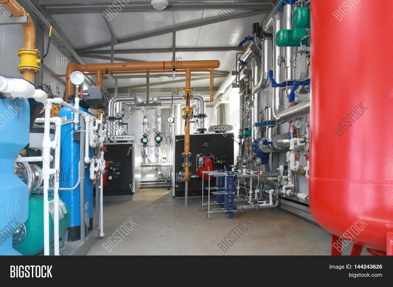 Interior Modern Boiler Image & Photo (Free Trial) | Bigstock
