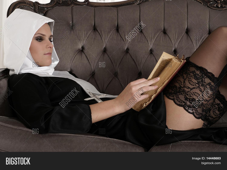Sexy nuns in stockings, english girl facial