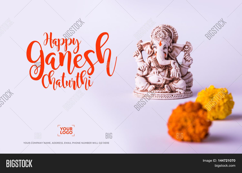 Happy Ganesh Chaturthi Image Photo Free Trial Bigstock
