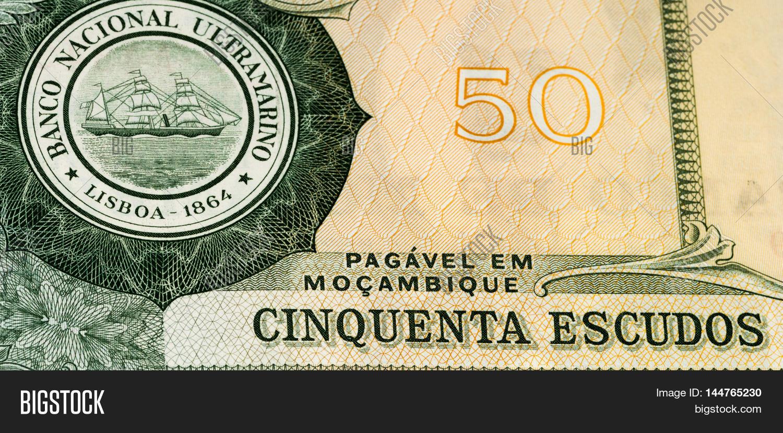 50 Mozambican Escudos Image Photo