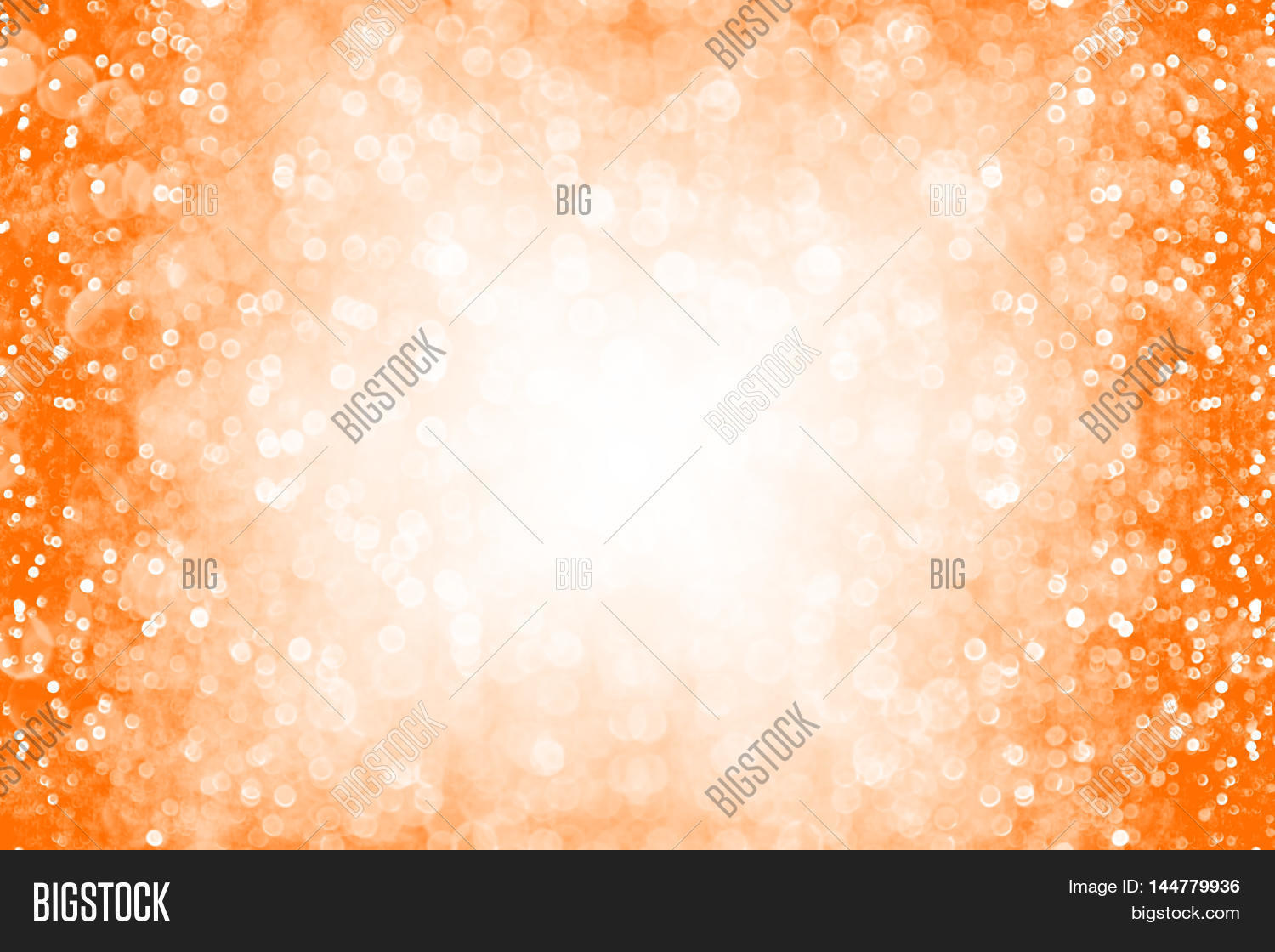 Abstract Orange Color Image Photo Free Trial Bigstock