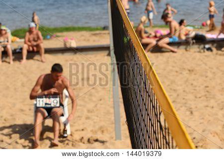 Beachvolley Ball Referee