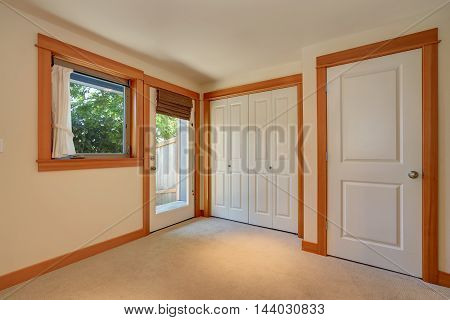 Empty Simple Entryway In Apartment House