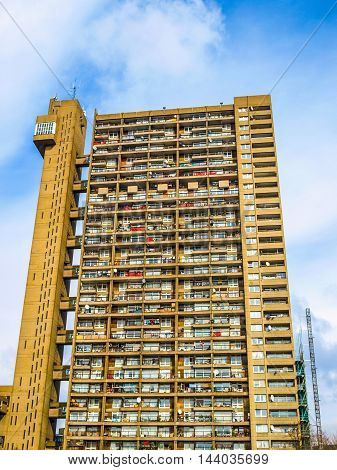 Trellick Tower In London (hdr)