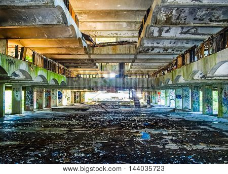 St Peter Seminary In Cardross (hdr)