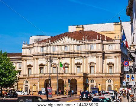 Teatro Alla Scala Milan (hdr)