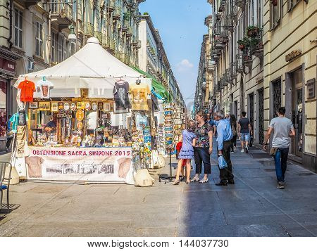 People Visiting Turin (hdr)