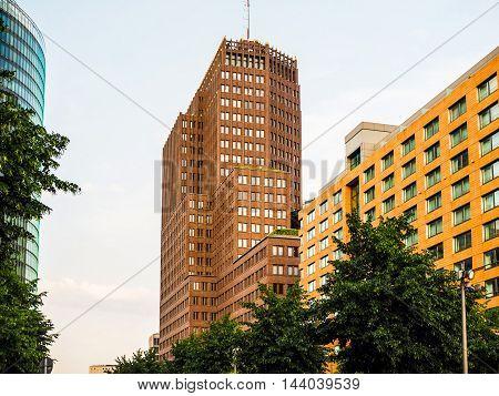 Kollhoff Tower In Berlin (hdr)