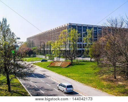 Palazzo Del Lavoro In Turin (hdr)