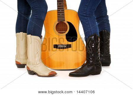 Guitar Cowgirls