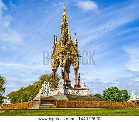 Albert Memorial, London Hdr