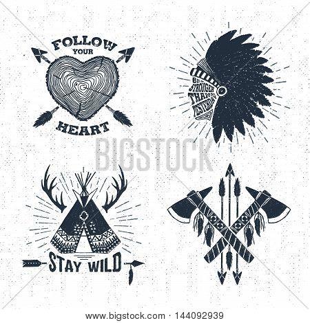 Hand Drawn Tribal Vector Photo Free Trial Bigstock