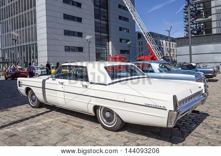 COLOGNE GERMANY - AUG 7 2016: 1965 Mercury Montclair Marauder 4 Door at an exhibition in the city of Cologne Germany
