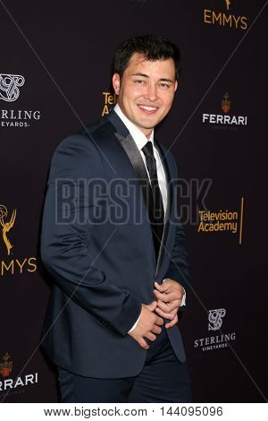 LOS ANGELES - AUG 24:  Christopher Sean at the Daytime TV Celebrates Emmy Season  at the Television Academy - Saban Media Center on August 24, 2016 in North Hollywood, CA