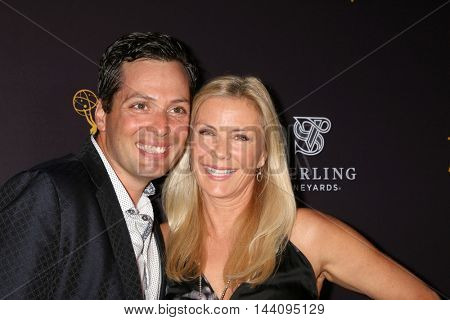 LOS ANGELES - AUG 24:  Dominique Zoida, Katherine Kelly Lang at the Daytime TV Celebrates Emmy Season  at the Television Academy - Saban Media Center on August 24, 2016 in North Hollywood, CA