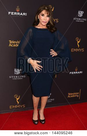LOS ANGELES - AUG 24:  Kate Linder at the Daytime TV Celebrates Emmy Season  at the Television Academy - Saban Media Center on August 24, 2016 in North Hollywood, CA