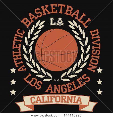 California College fashion design print for t-shirt. California Sport Typography. California sports Graphics, California T-shirt Printing Design, vintage Vector