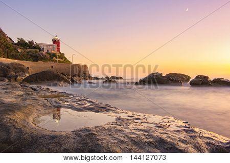 Sunset in the Tyrrhenian Sea - Sicily,IT poster