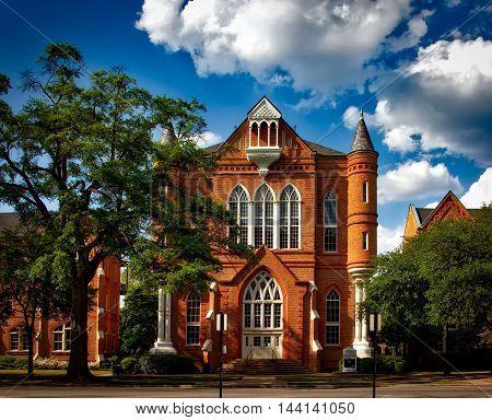 University Of Alabama. Tuscaloosa. Clark Hall