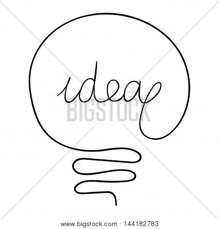 Drawing Idea Light Vector Photo Free Trial