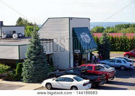 PETOSKEY, MICHIGAN / UNITED STATES - AUGUST 2, 2016: J.W. Filmore's Family Restaurant offers fine dining in Petoskey.