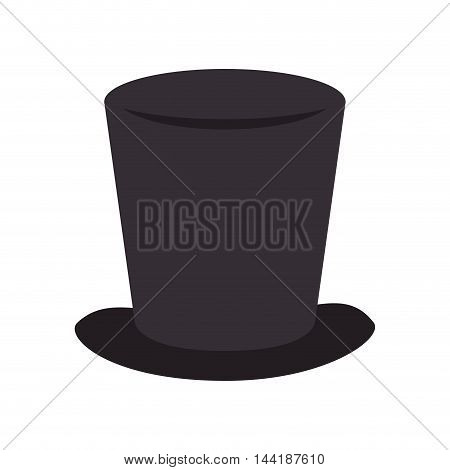 tophat hat magic elegance clothing classic vector illustration