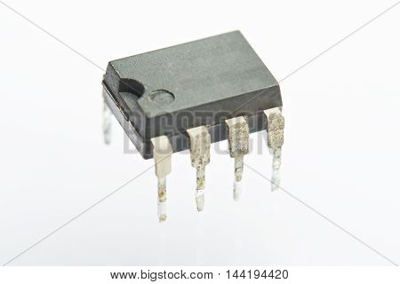 Close Up Of Electrical Resistor