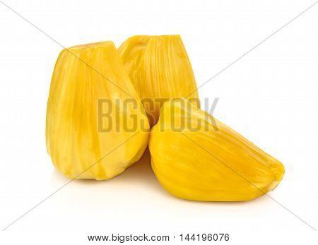 Ripe Jackfruit isolated on white background food