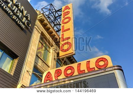 Apollo Theater - Harlem, New York