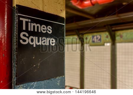 42Nd Street Subway - Nyc